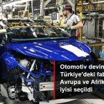 Toyota Türkiye, Avrupa ve Afrika'daki en iyi fabrika Seçildi