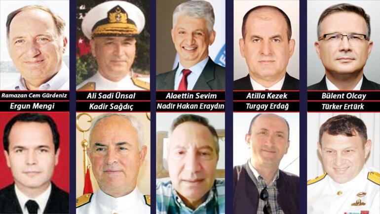 104 emekli amirale soruşturma: Dijital izler inceleniyor