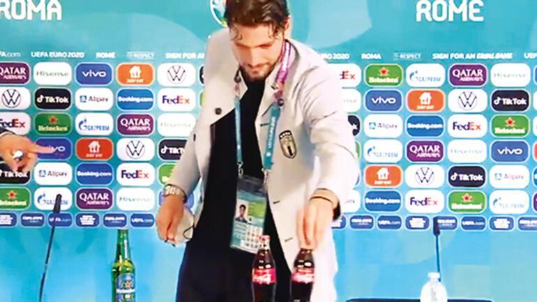 Ronaldonun başlattığı akımın yankıları sürüyor... Sağlık mı, para mı