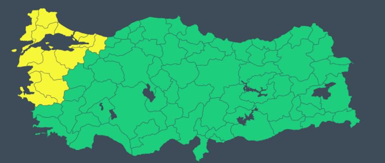 Son dakika hava durumu: İstanbul ve çok sayıda kent alarmda Meteorolojiden peş peşe uyarılar...
